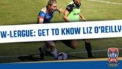Number 3 for Newcastle Jets Women is Elizabeth (Liz) O'Reilly