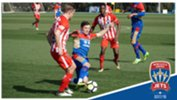 Newcastle Jets defeated Melbourne City 3-1 at CFA Melbourne on Wednesday