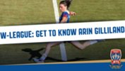 Number 5 for Newcastle Jets Women is American international, Arin Gilliland