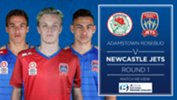 Newcastle Jets Youth drew 4-4 with Adamstown Rosebud FC on Saturday afternoon