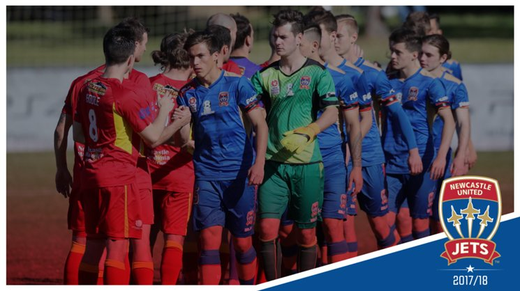 Newcastle Jets Youth lost 2-0 to Broadmeadow Magic FC on Sunday