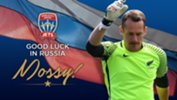 Jets goalkeeper Glen Moss is in Russia for the 2017 FIFA Confederations Cup