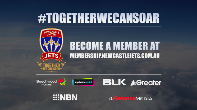 VIDEO: Watch the new Newcastle Jets Membership television advert!