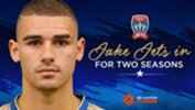 Jake Adelson has joined the Jets for the next two Hyundai A-League seasons