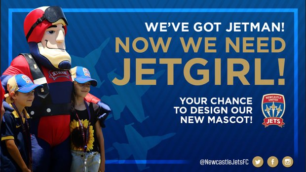 Kids aged between six and 12 have the chance to design our new female mascot!