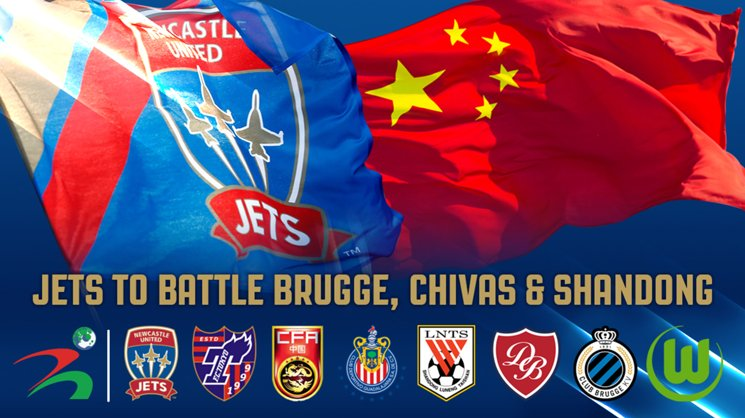 A Jets Youth Selection will play at the 2017 Weifang Cup in China this month