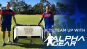 Newcastle Jets team up with Alpha Gear
