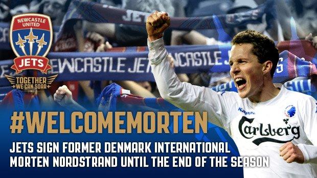 Newcastle net Nordstrand: #WelcomeMorten