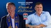 We're giving Jets Members the chance to ask Ernie Merrick & Lawrie McKinna a question!