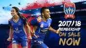 Newcastle Jets 2017/18 Memberships are now on sale!