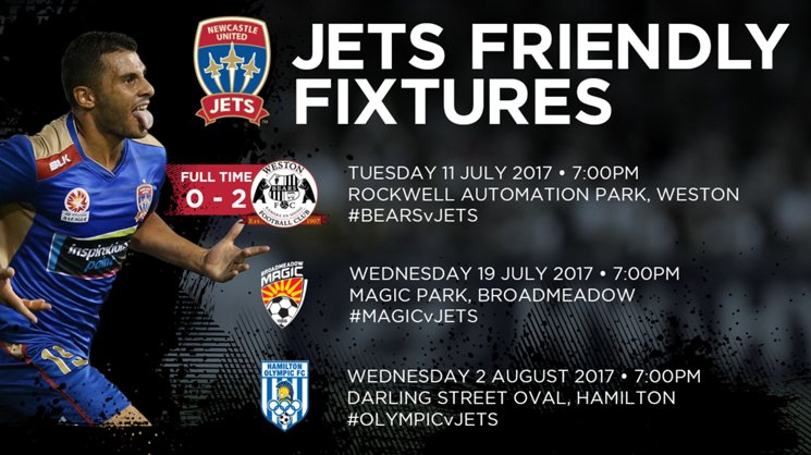 Newcastle Jets defeated Weston FC 2-0 in the Coalfields on Tuesday evening