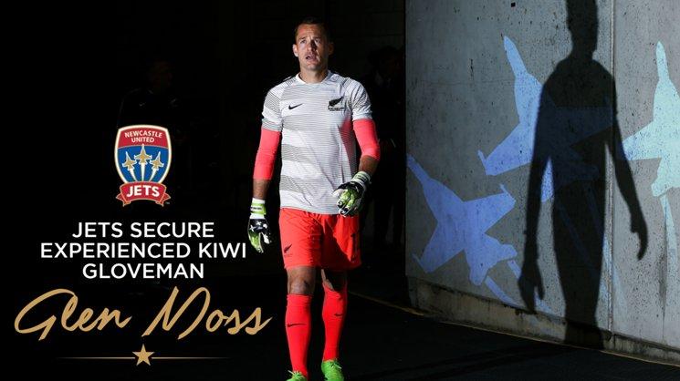 Jets secure experienced Kiwi gloveman Glen Moss