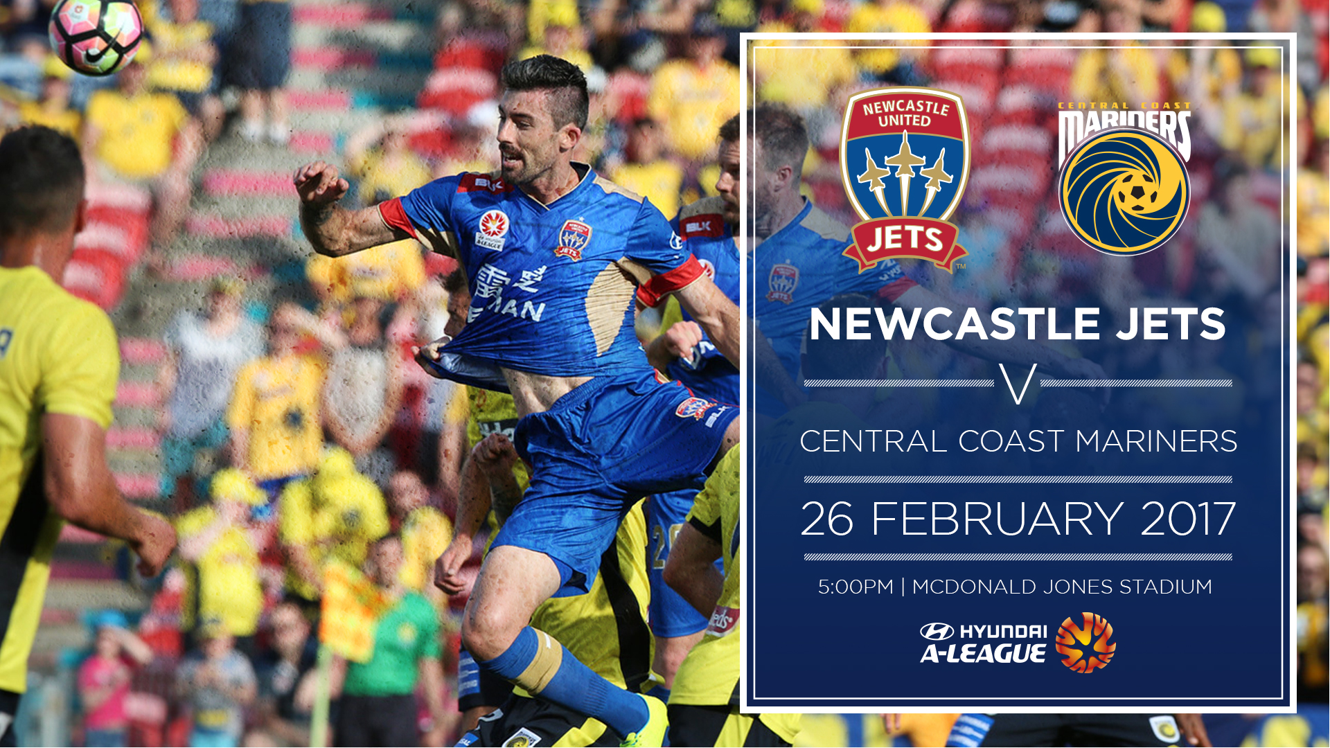 Newcastle Jets: NEWS: Hoffman Determined For Derby Day Delight