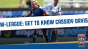 Number 6 for Newcastle Jets Women is reliable and versatile midfielder, Cassidy Davis.