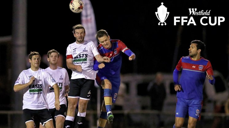 Nigel Boogaard played 45 minutes against Maitland FC last Wednesday