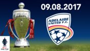 Newcastle Jets will play Adelaide United on Wednesday 9 August 2017