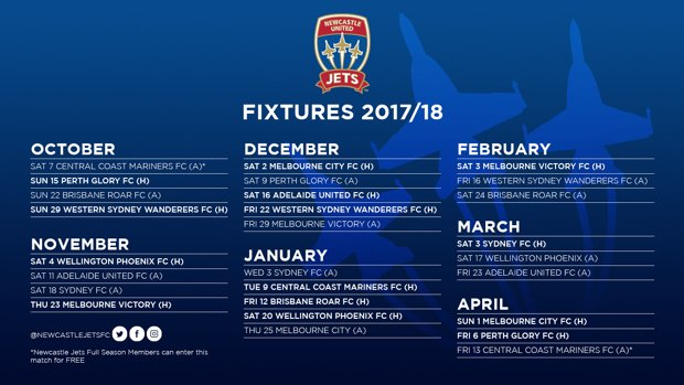 Our 2017/18 fixture list has landed!