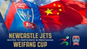 A Newcastle Jets youth selection is set to participate in the Weifang Cup
