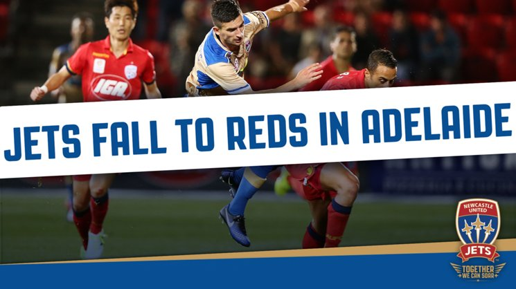 Newcastle Jets were defeated 1-0 by Adelaide United at Coopers Stadium on Friday