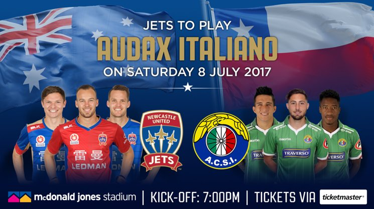 VisionMAX to provide local footballers with Jets vs. Audax Italiano ticketing incentive