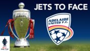 Newcastle Jets will play Adelaide United in the Round of 32 of the Westfield FFA Cup