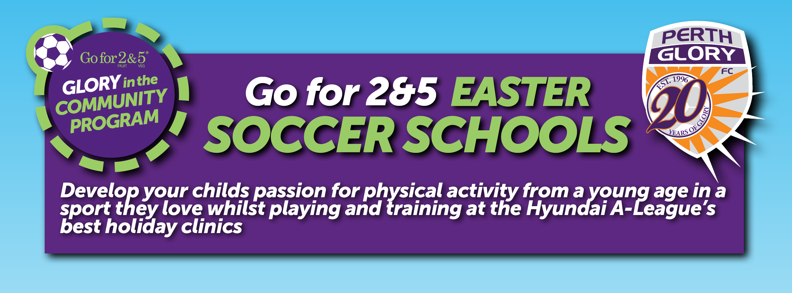 Page header Perth Glory Soccer Schools