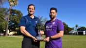 Sorrento coach Jamie Harnwell and Perth Glory coach John Gibson prepare for the PS4 NPLWA regional match in Geraldton this weekend.