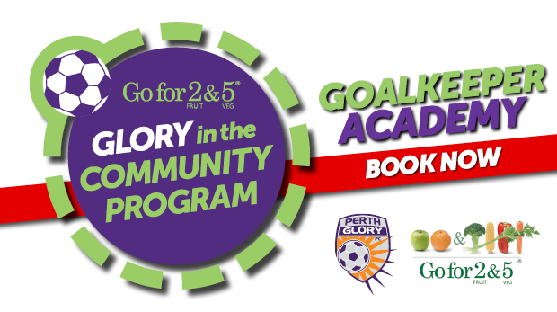 Go for 2 & 5 Glory in the Community Goalkeeper Academy WEB HEADER - BOOK NOW