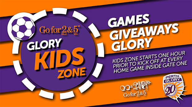 Be There for the Go for 2 & 5 Glory in the Community Kids Zone