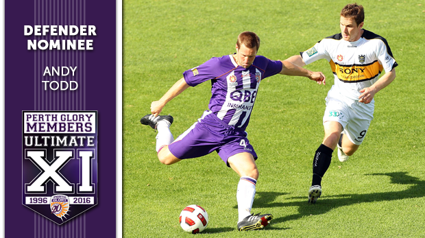 Perth Glory Andy Todd