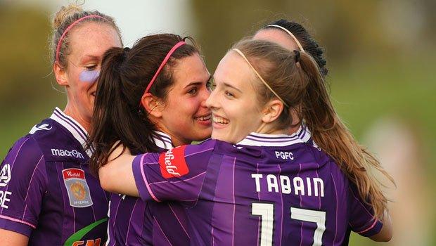Tabain celebrates - cropped