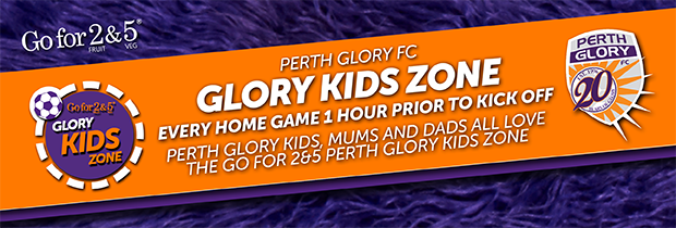 Be There for the Go for 2&5 Glory in the Community Kids Zone Blurb