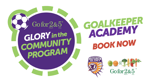 Go for 2 & 5 Glory in the Community Goalkeeper Acadmey WEB HEADER - BOOK NOW