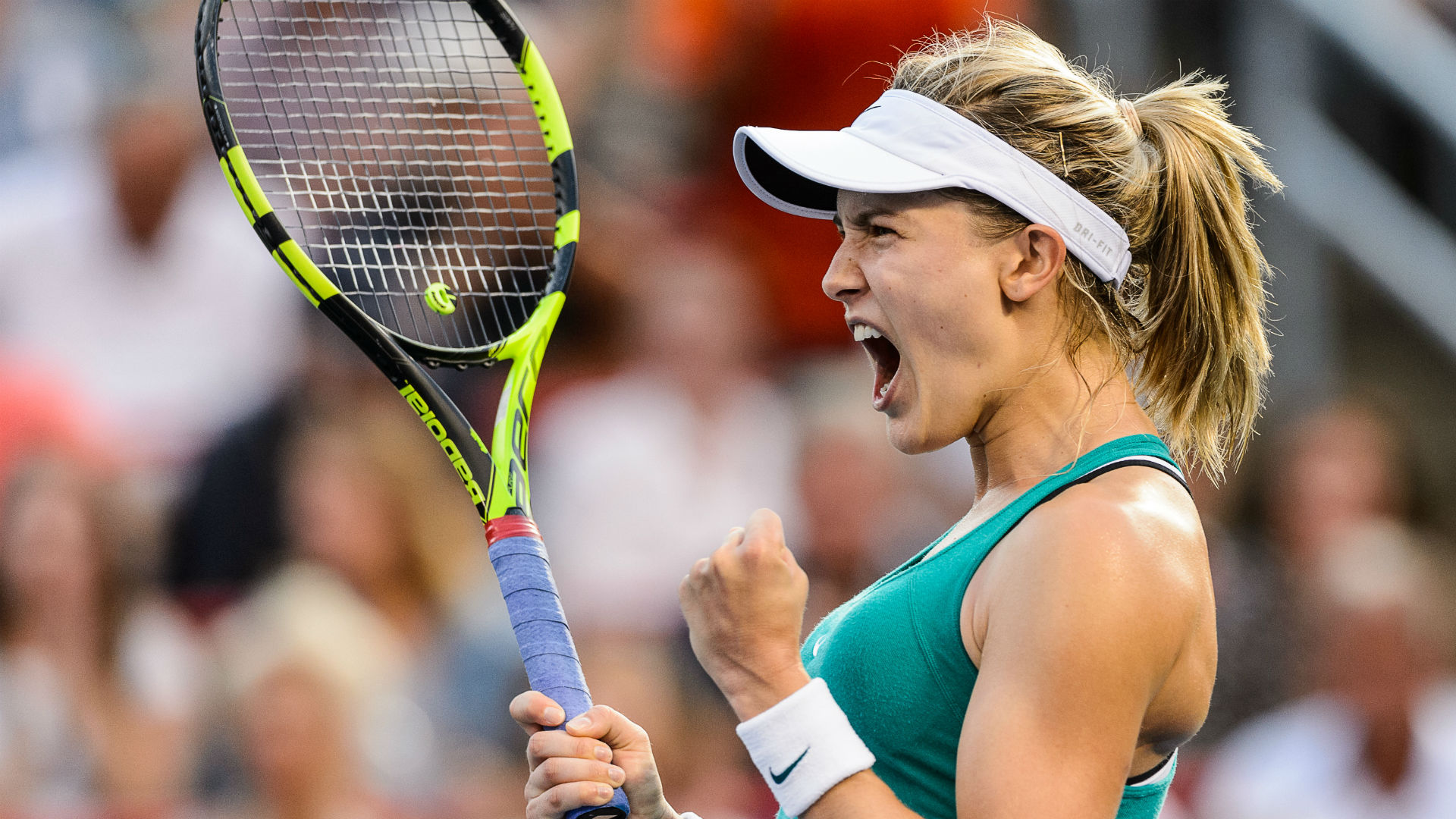 Canada's Bouchard retires from Swiss Open semifinal against Cornet with injury