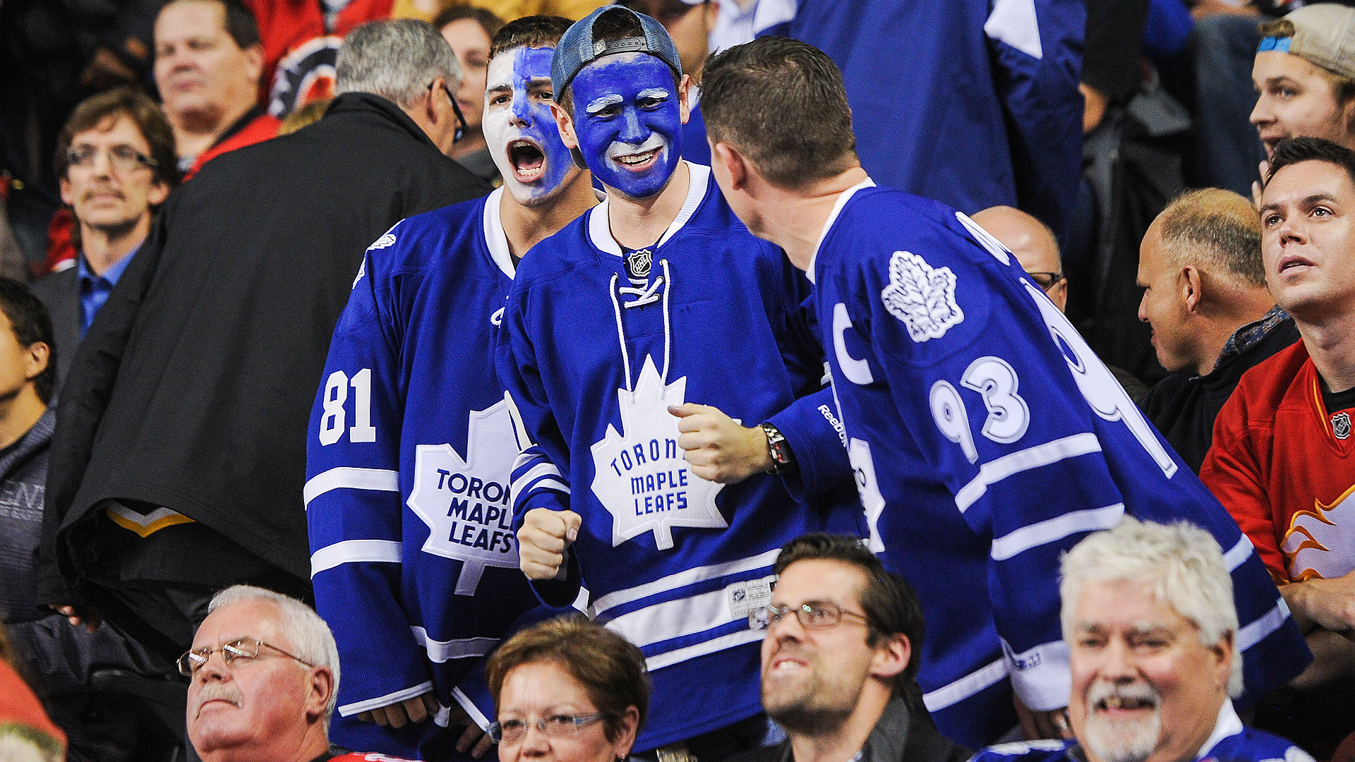 Most intimidating fans in the nhl