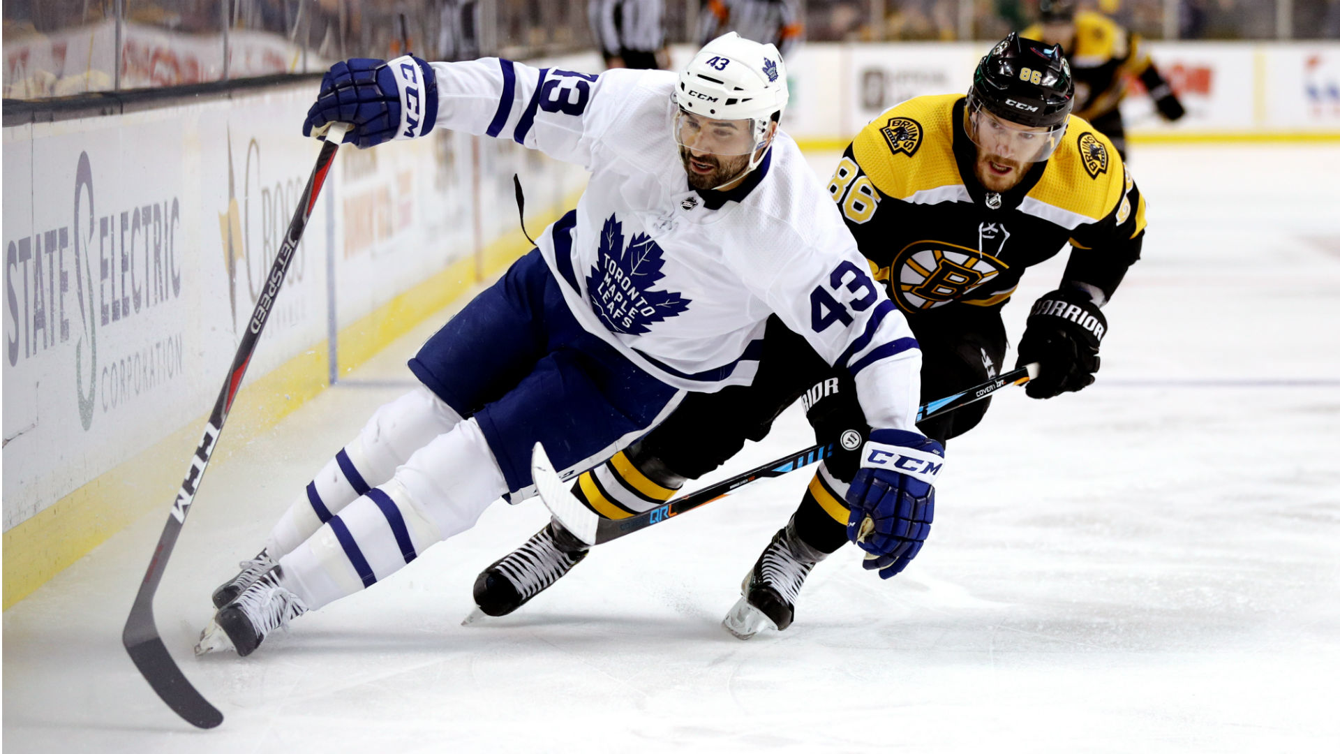 Bruins finally oust Leafs