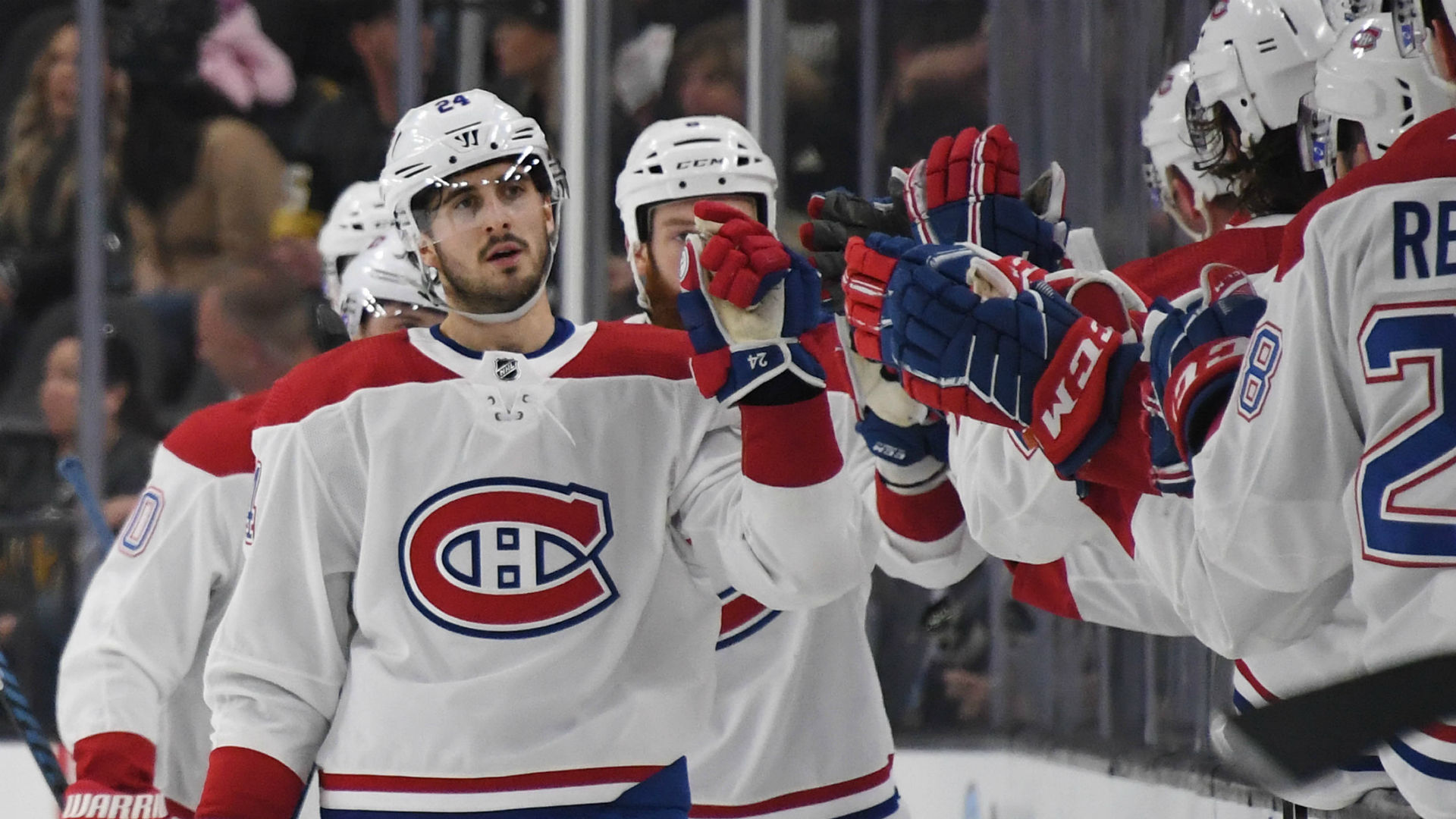 Danault hat trick helps Canadiens rally past Golden Knights in overtime