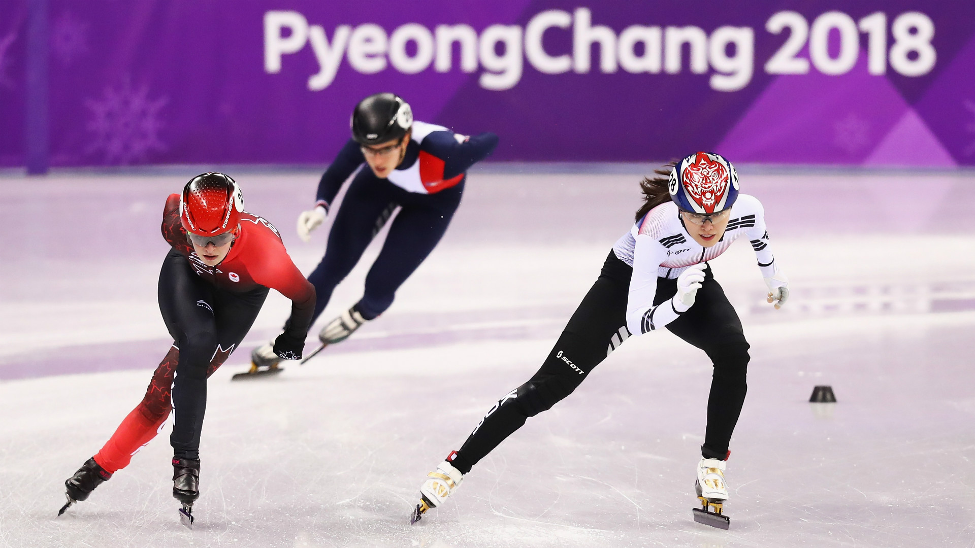 Winter Olympics results: Short track speed skating women's 1500m