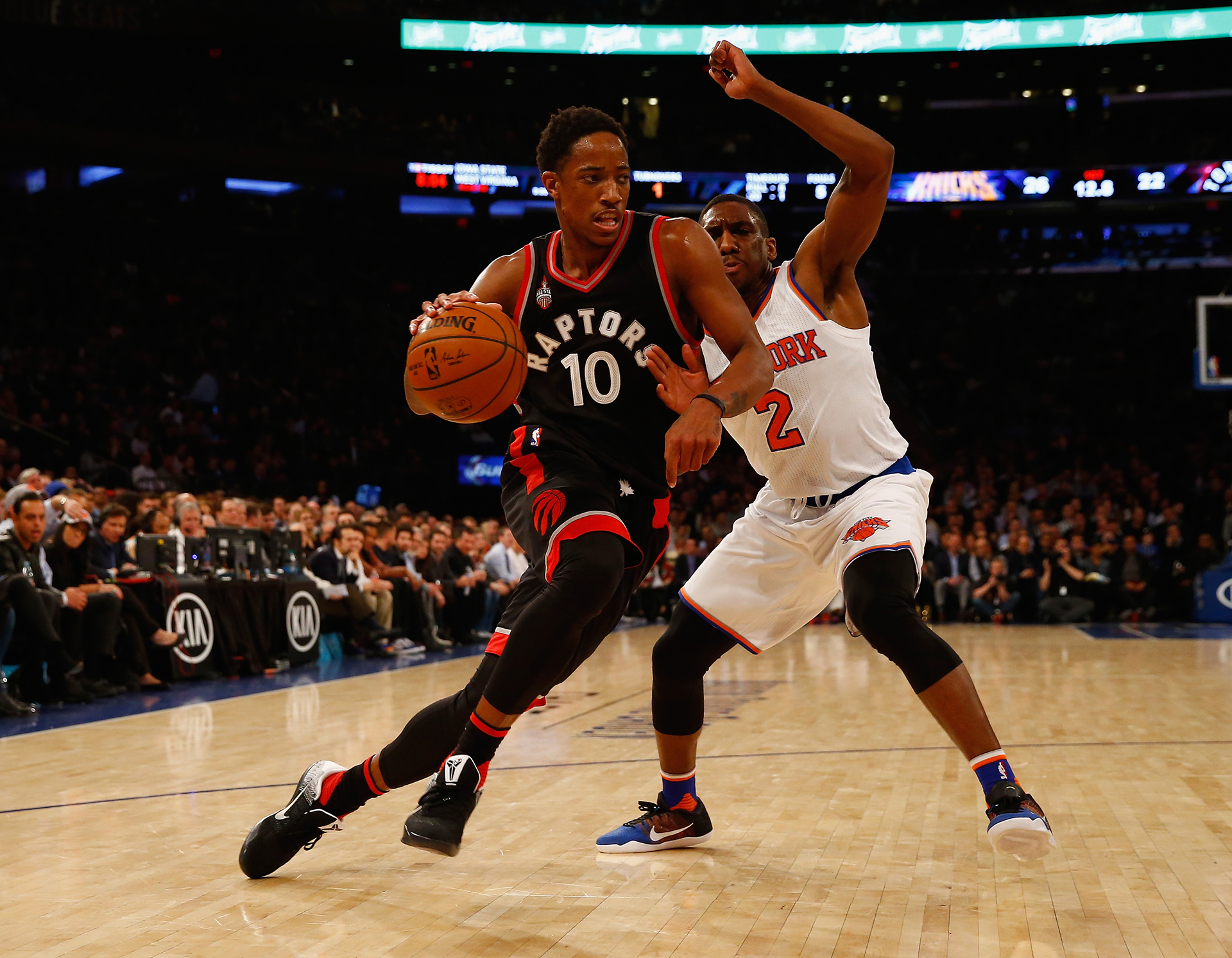 After promising start, Raptors fall to Knicks 108-100