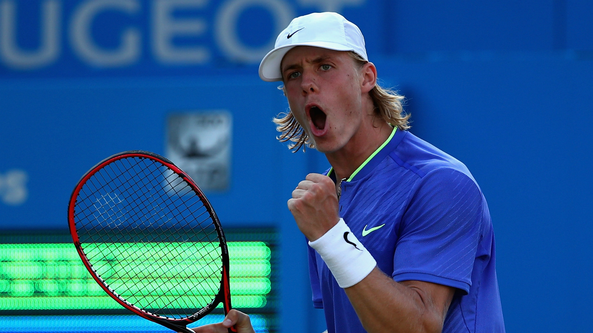 Shapovalov beats idol del Potro to advance at Rogers Cup