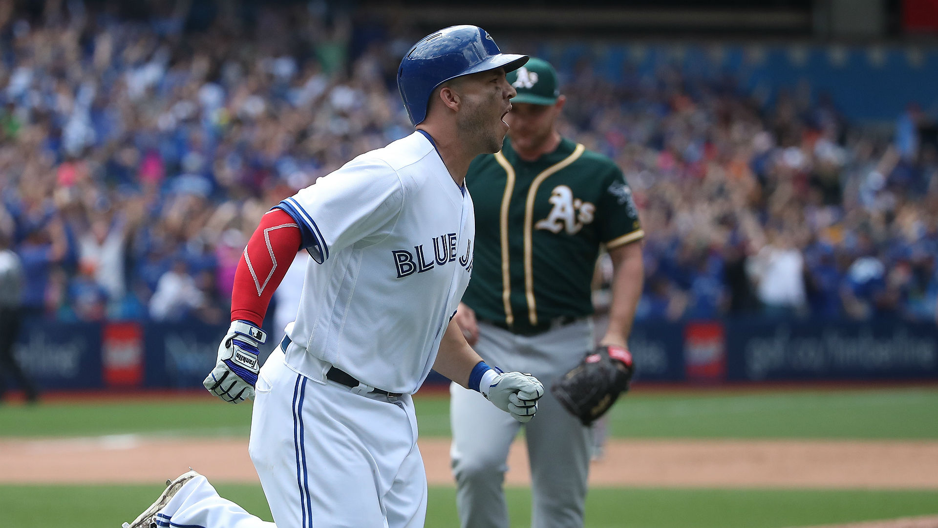 Blue Jays' Stroman, Martin, Gibbons ejected vs. A's