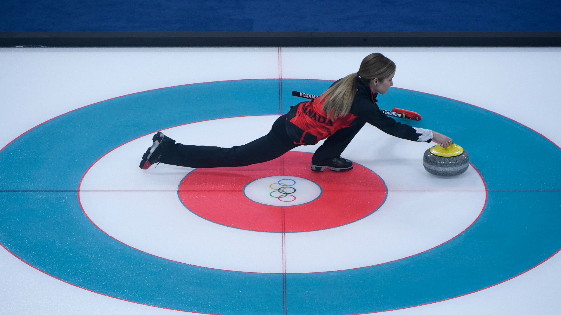 Wisconsin mixed doubles curling siblings splits first two Olympic matches