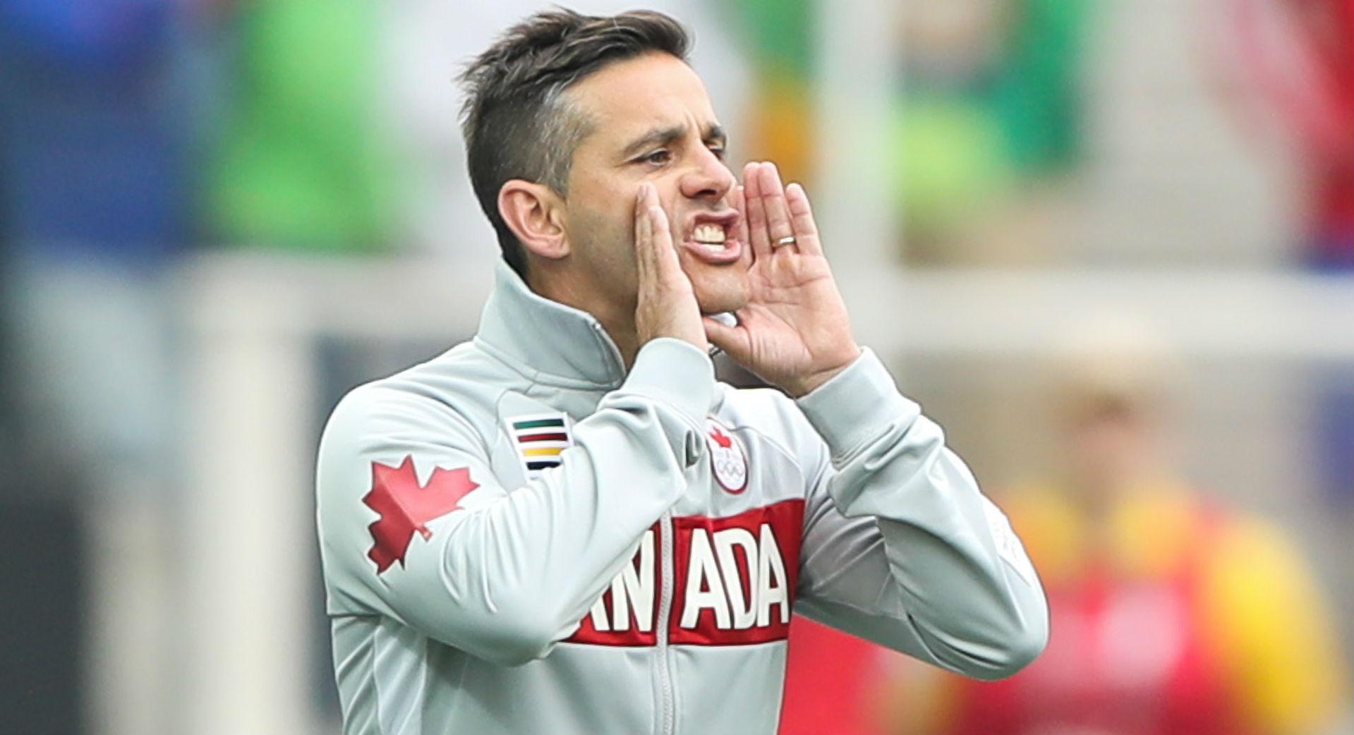 John Herdman takes over Canadian men's soccer program