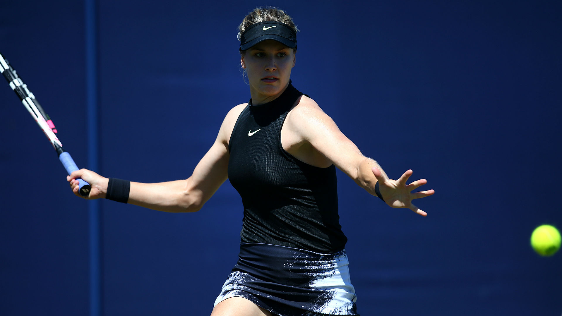 Bouchard ousted in first round of Rogers Cup