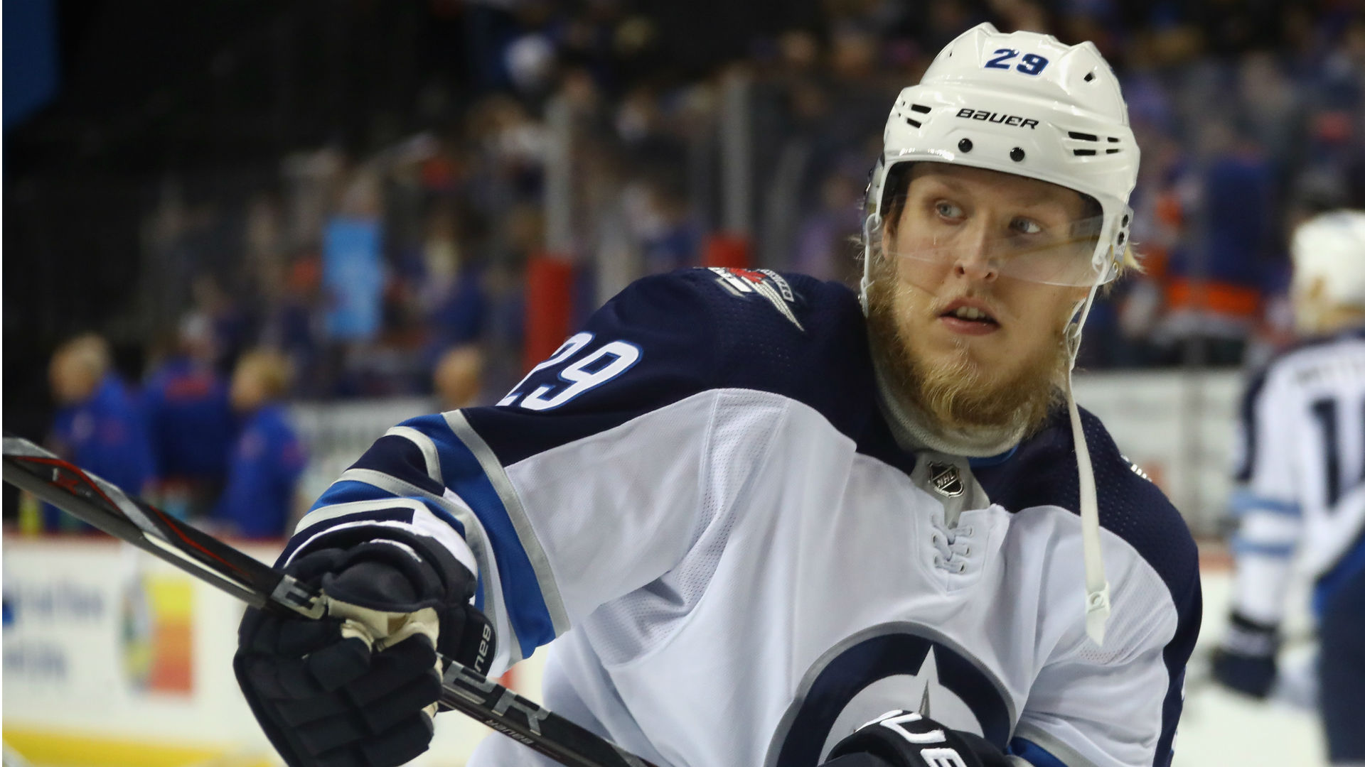 Days after saying he'd like to notch 50, Patrik Laine scores first goal of season