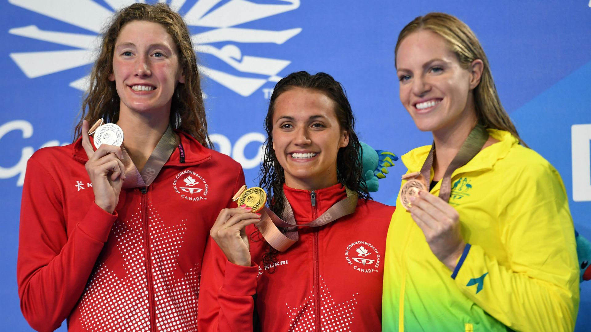Taylor Ruck ties Canada record with 7th Commonwealth Games medal