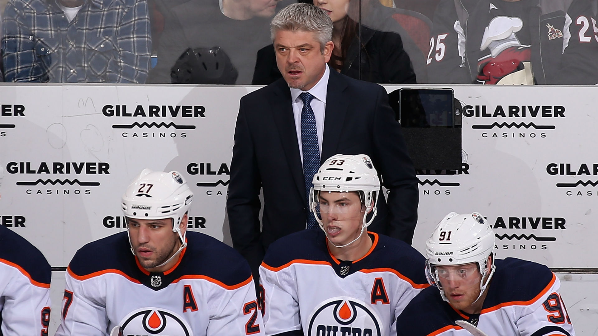 Oilers fire pair of assistant coaches, re-assign another to AHL