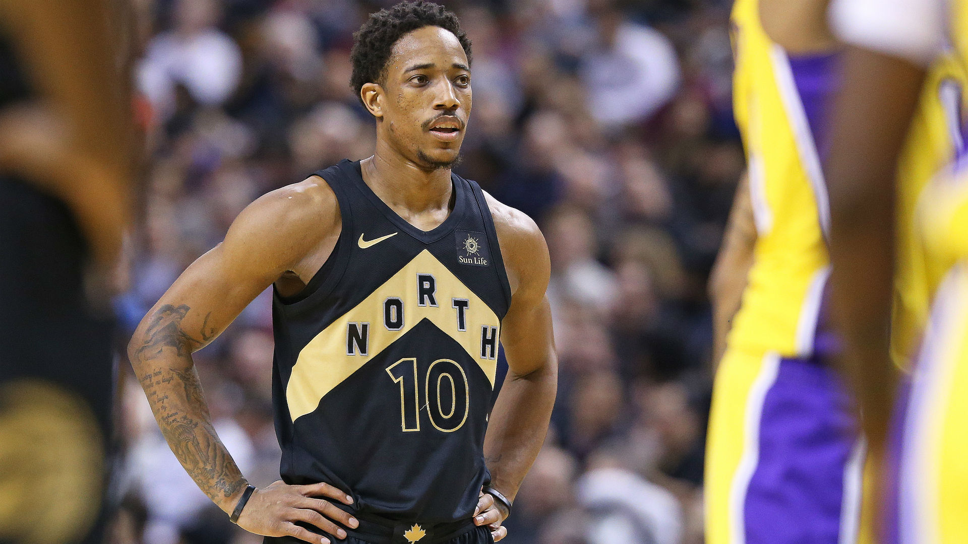 Raptors guard DeRozan named Eastern Conference player of the month