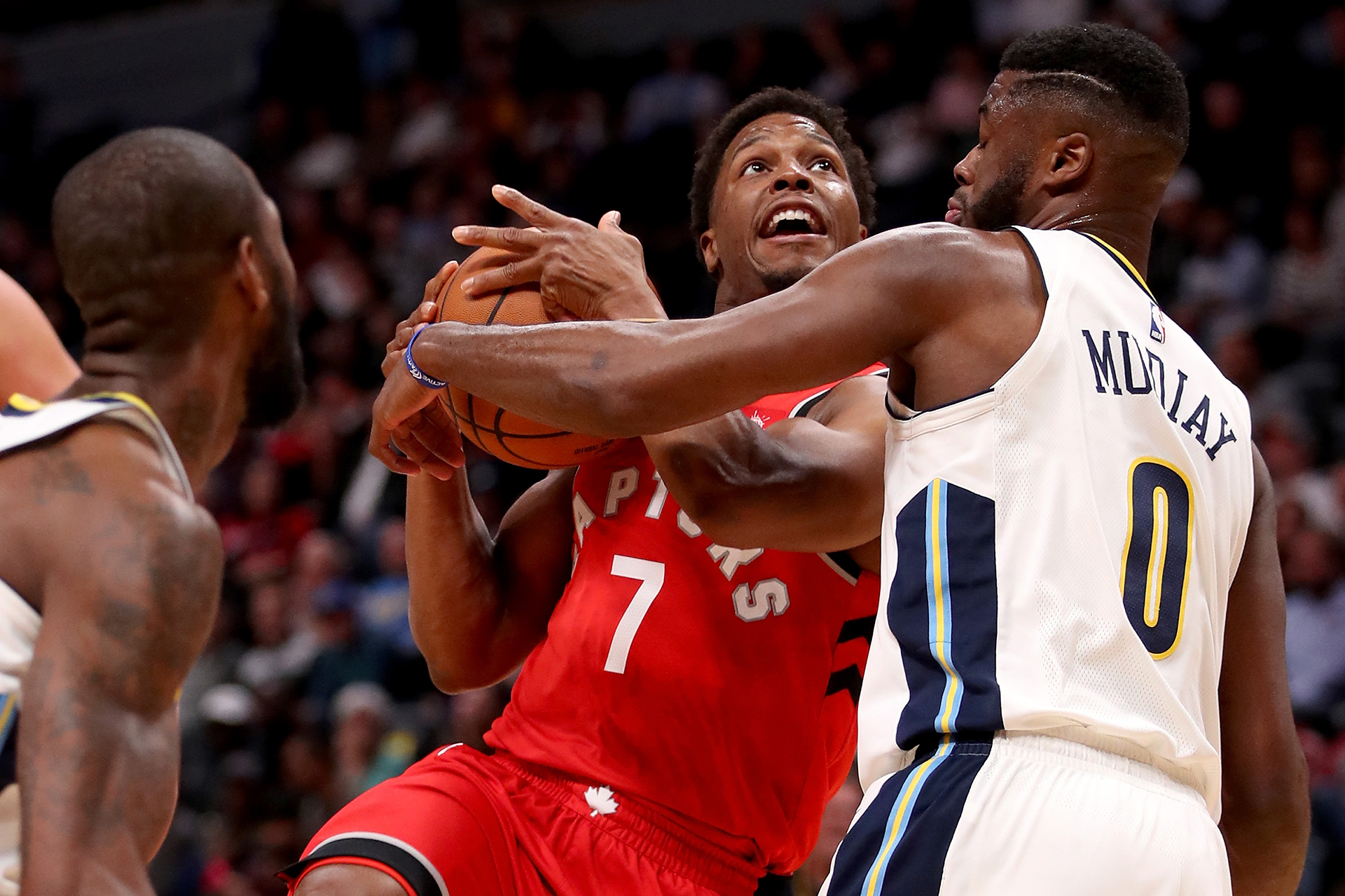 Raptors fall hard to Nuggets in Denver