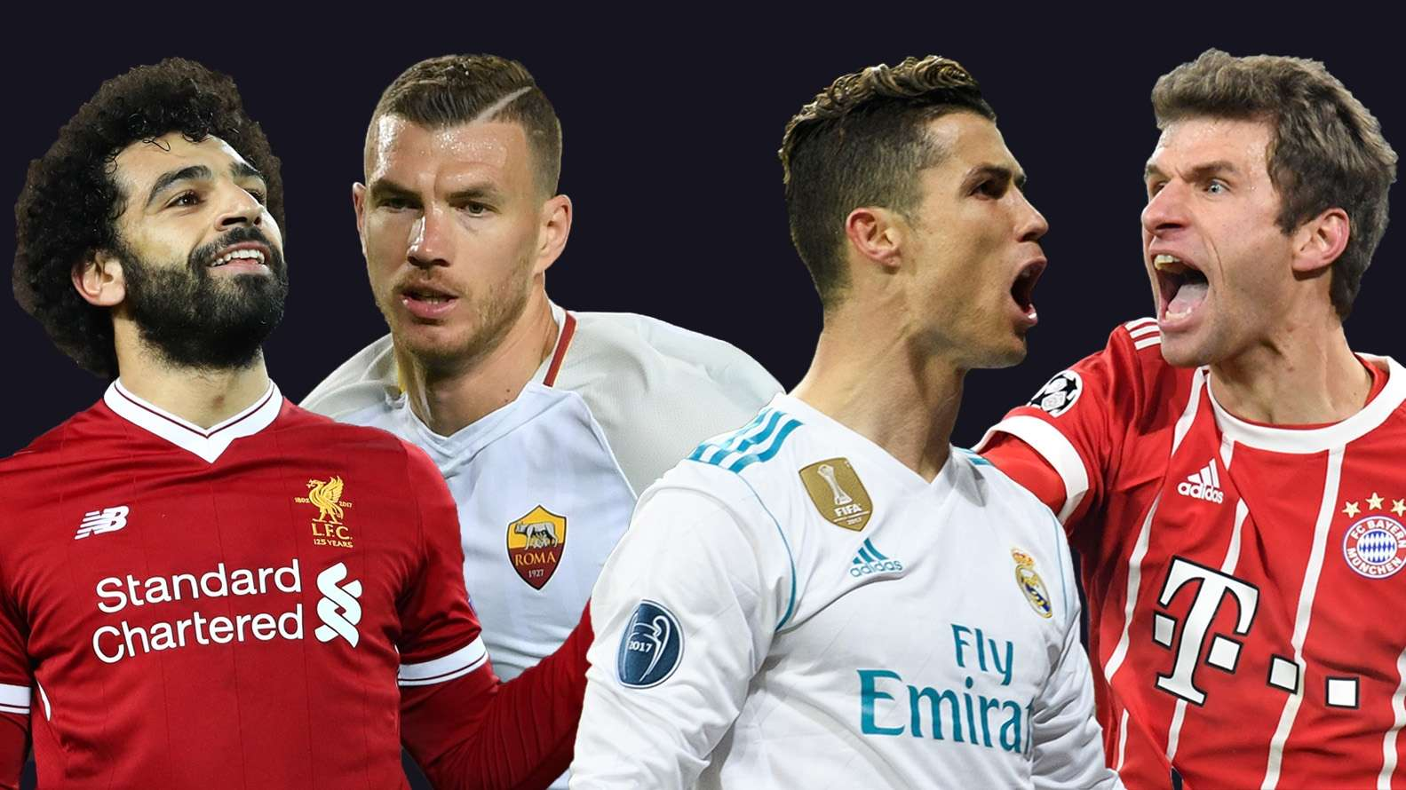 Champions League Semifinals Head To Head Looks At Real Madrid Bayern Munich As Roma Liverpool